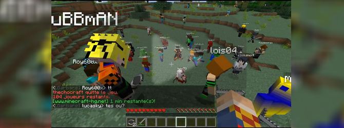 Let s play minecraft hunger games 2 avec mrmandartine et clemenx